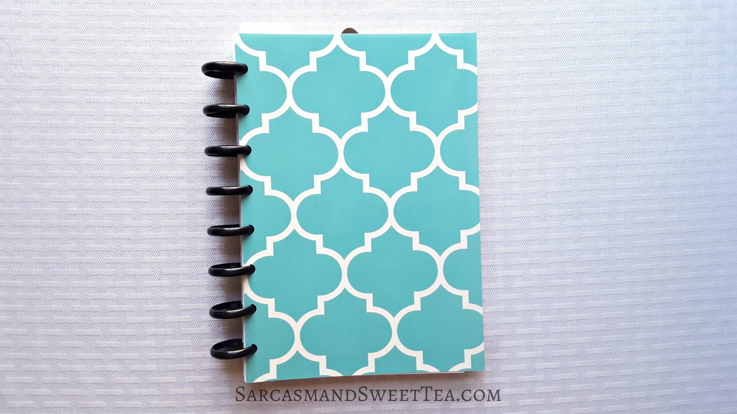 DIY Discbound Notebook Cover