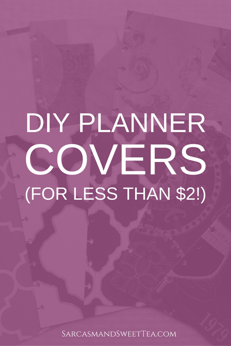 DIY Planner Cover (For Less Than $2)
